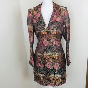 Georgiou Studio Kimono Trench Coat